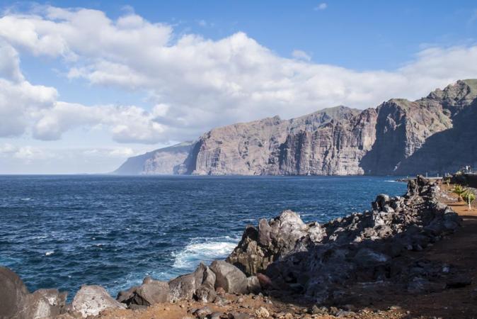Los guanches creían que Los Gigantes (Tenerife) marcaban el fin del...