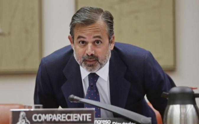 El subsecretario del Ministerio de la Presidencia, Ramos de Armas, hoy...