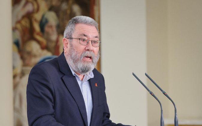 Cándido Méndez, secretario general de UGT.