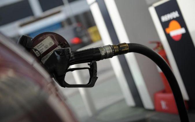 Gasolinera de Repsol.