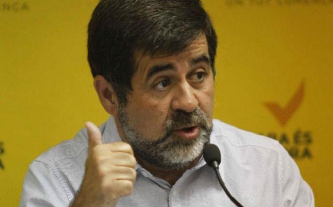 Jordi Sànchez,presidente de la Assemblea Nacional Catalana (ANC)
