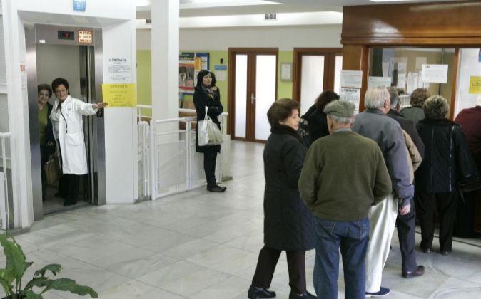 Un centro de Atención Primaria de la Comunidad de Madrid.