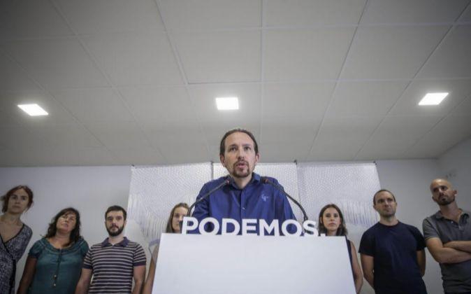 Pablo Iglesias, el líder de Podemos.