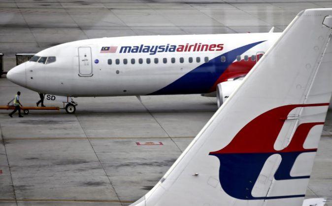 Aviones de la antigua Malaysia Airlines.