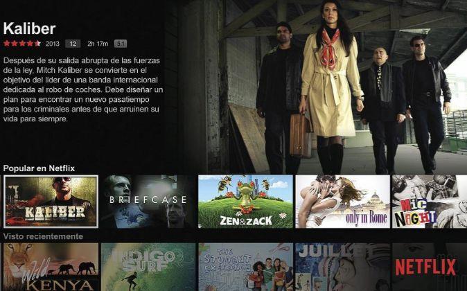 Portal de Netflix