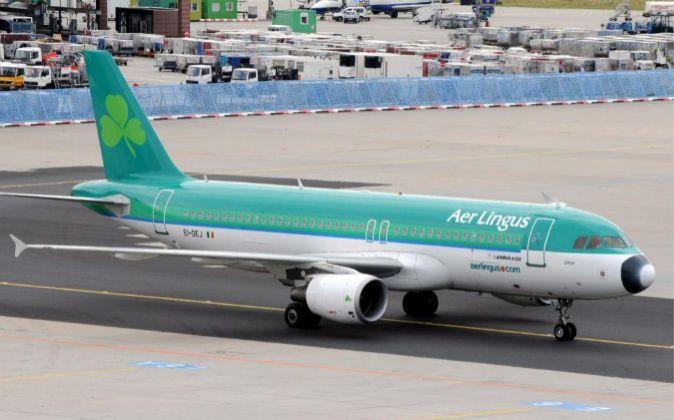 Un avión de la aerolínea Aer Lingus