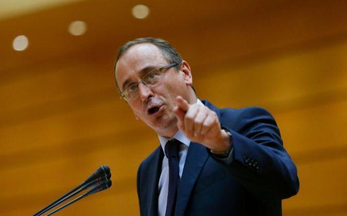 El ministro de Sanidad, Servicios Sociales e Igualdad, Alfonso Alonso.
