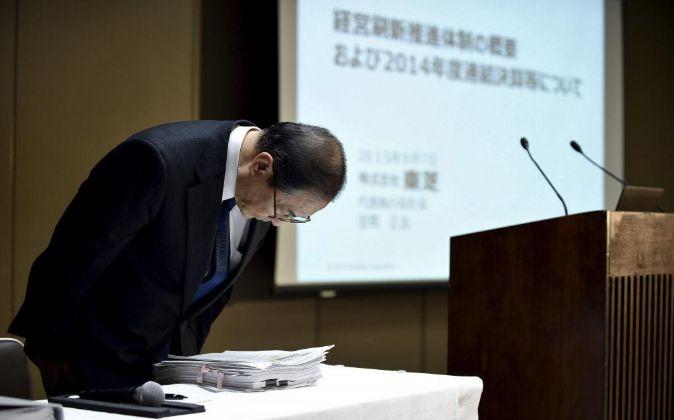 Masashi Muromachi, presidente de Toshiba.