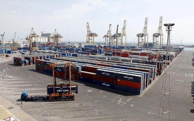 Terminal de contenedores del Grup Marítim TCB