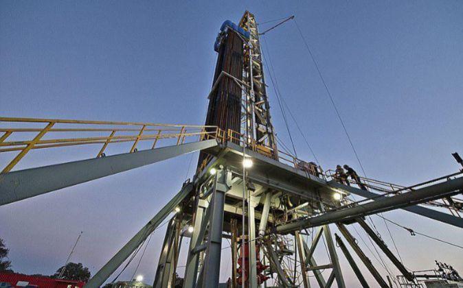 Explotación de fracking en Texas (EEUU).