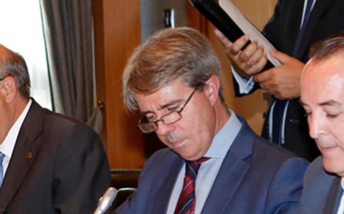 Ángel Garrido, nuevo presidente de Canal Isabel II Gestión.