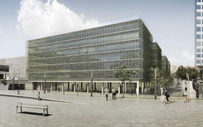 Las obras de las nuevas oficinas de la generalitat empezar n en 2016 - Oficinas el corte ingles barcelona ...