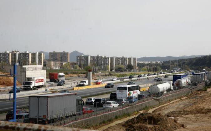 Un polígono industrial en Sabadell. Archivo.