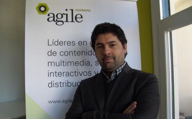Hernán Scapusio, uno de los fundadores de Agile Content