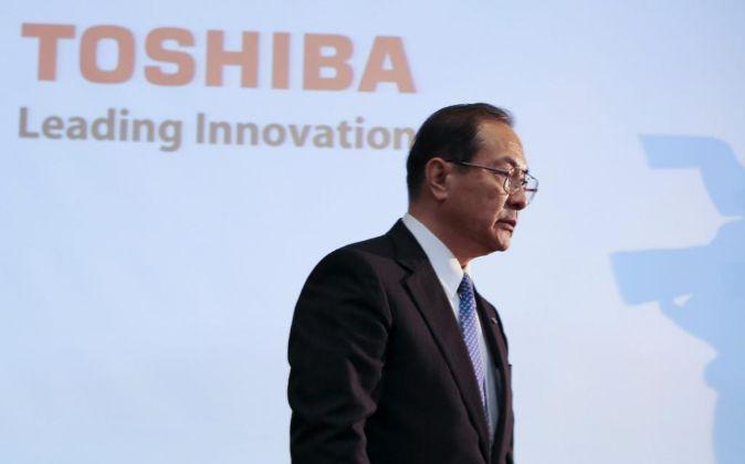 El presidente y ceo de Toshiba