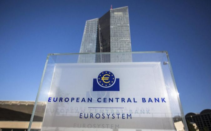 Vista de la sede del BCE