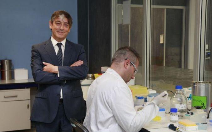 Carlos Buesa, fundador y presidente de Oryzon Genomics