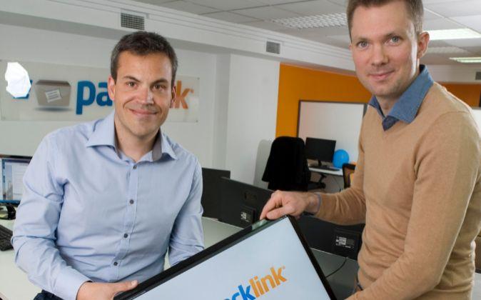 Ben Askew-Renaut y Javier Bravo, fundadores de Packlink.