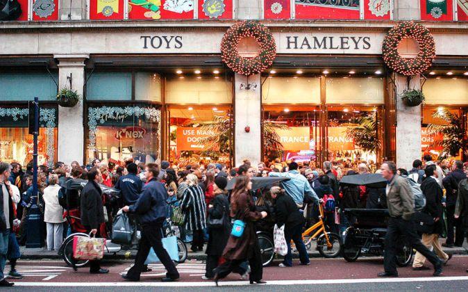 La Tienda De Juguetes Hamleys Llega A Espana