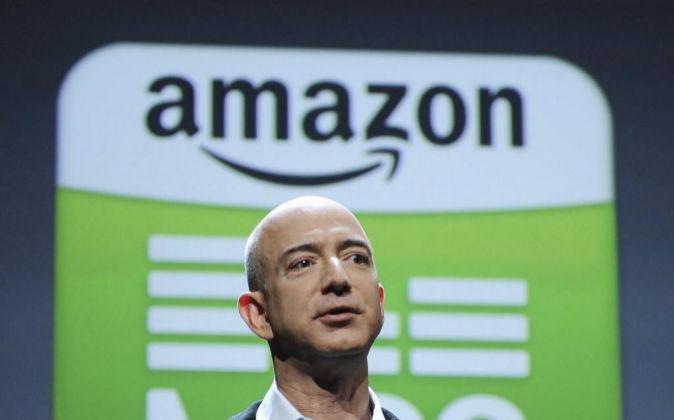 El fundador y consejero delegado de Amazon, Jeff Bezos