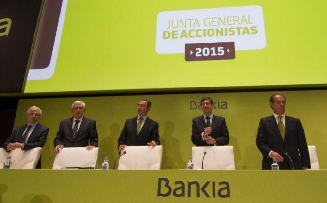 JUNTA GENERAL DE ACCIONISTAS 2015 DE BANKIA.