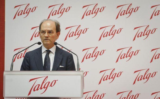 Carlos de Palacio, presidente de Talgo.