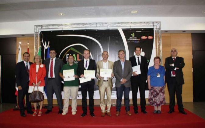 Galardonados del  III Concurso Producto Innovador de FIAL 2015 en Don...