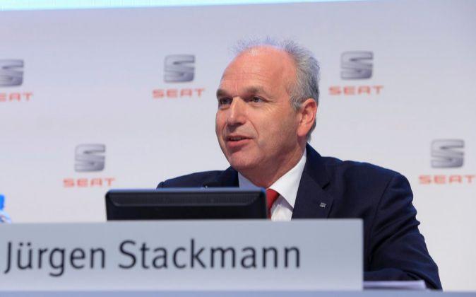 Jürgen Stackmann, presidente de Seat.