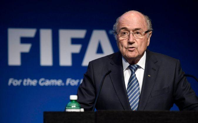 Joseph Blatter, presidente de la FIFA