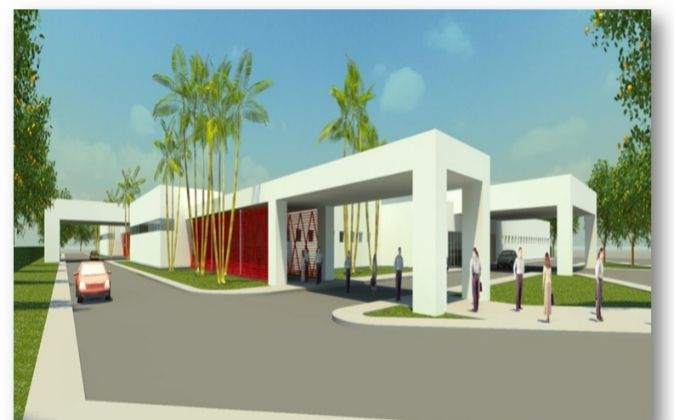 Imagen Virtual del proyecto.