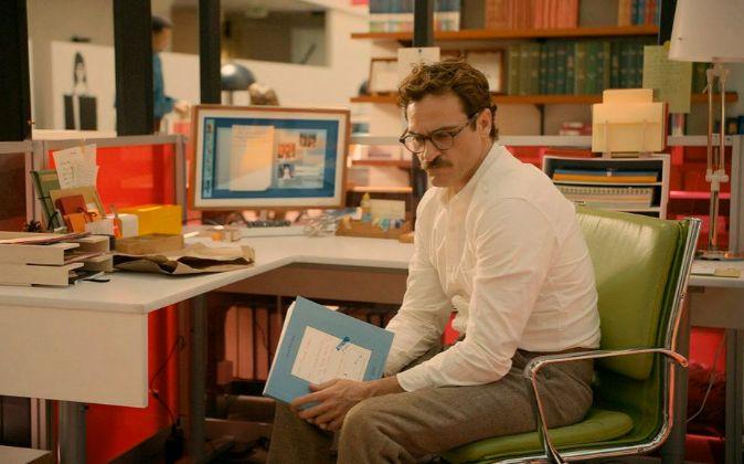Escena de la película 'Her'.
