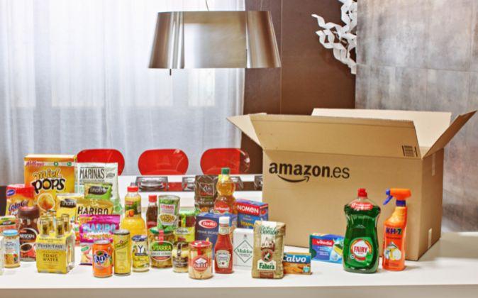 Algunos de los productos que venderá Amazon.