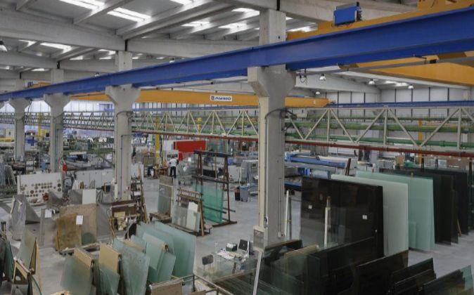 Planta de Pontevedresa Group, dedicada al cristal industrial y...