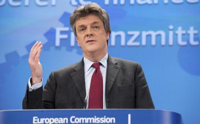 Jonathan Hill, comisario europeo de Asuntos Financieros