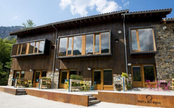 En el asturiano Parque Natural de Redes, en la idílica aldea de...