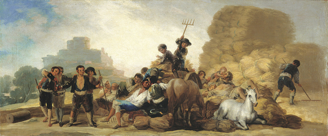 'La era o El verano' de Goya es uno de los cuadros de la Colección...