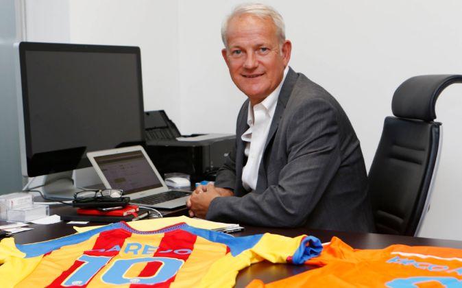 Peter Draper, director de Márketing del Valencia CF.