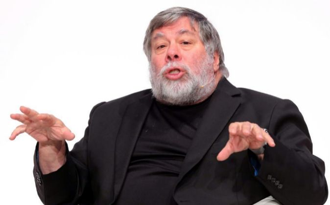 Steve Wozniak, cofundador de Apple, durante su intervención en South...