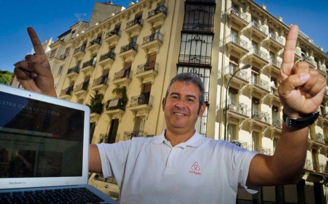 Arnaldo Muñoz,  director general para España y Portugal de Airbnb.