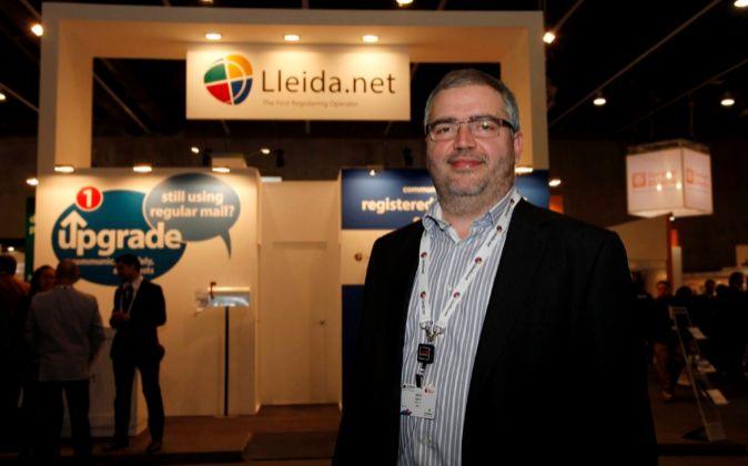 Sisco Sapena, director de Lleida.net.