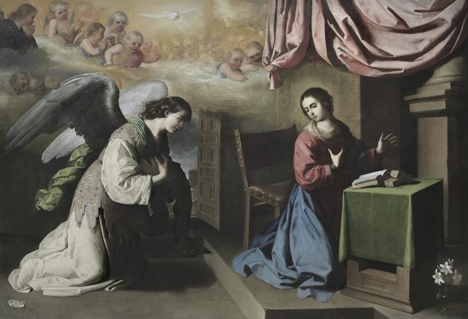 Zurbarán pintó varias anunciaciones. Esta 'Anunciación', pintada en...