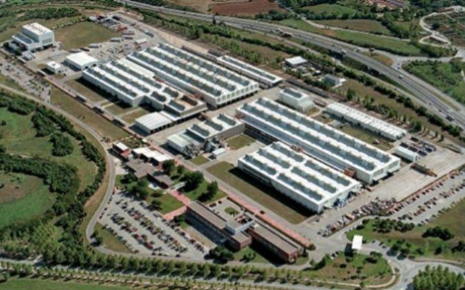 Planta de Alstom en el Vallès Occidental