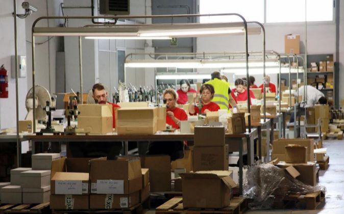 Fábrica de Inoxcrom en Barcelona.