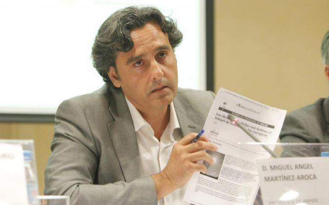Miguel Ángel Martínez-Aroca, presidente de Anpier.