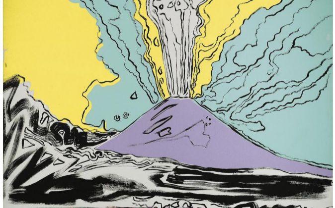 """""""Vesuvius"""" de Andy Warhol"""