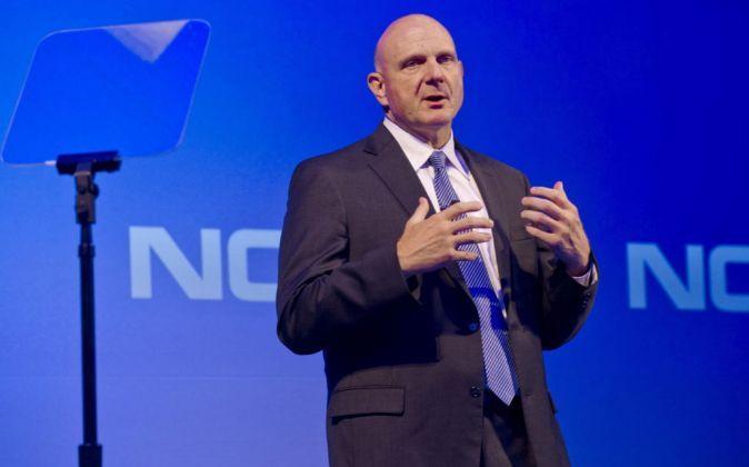 Steve Ballmer, antiguo consejero delegado de Microsoft.
