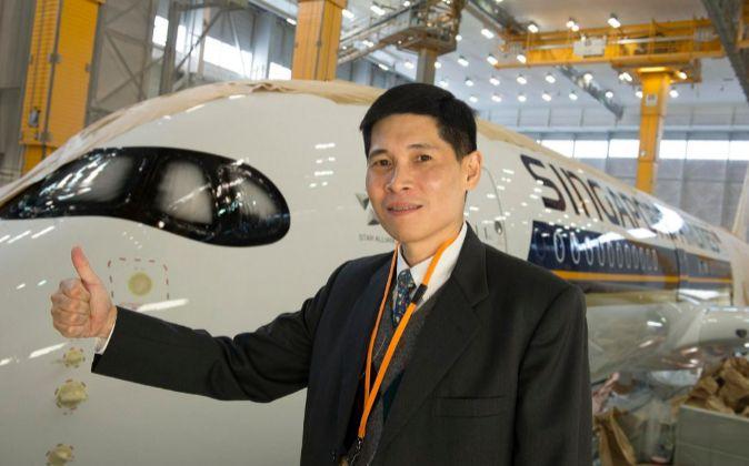 El vicepresidente de producto de Singapore Airlines, Tan Pee Teck.