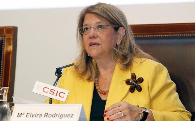 Elvira Rodríguez, presidenta de la CNMV.