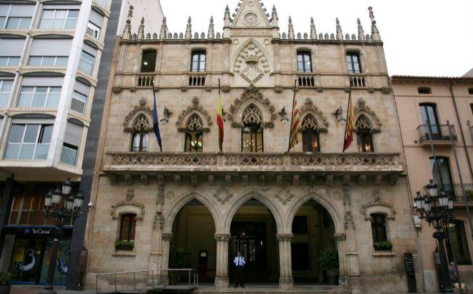 Fachada del Ayuntamiento de Terrassa (Vallès Occidental)
