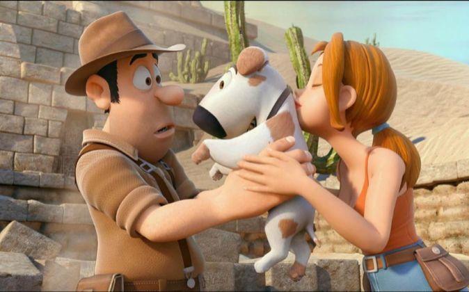 """Fotograma de la película de animación """"Las Aventuras de Tadeo..."""